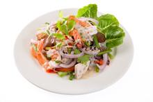 Mung Bean Noodle Spicy Salad