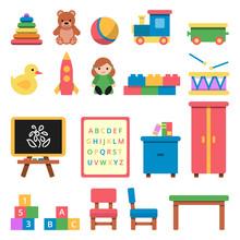 Various Toys For Preschool Kids
