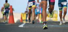 Marathon Running Race, Runners...