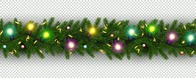 Christmas And New Year Border ...