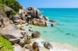 Koh Samui, Thailand, Asia. Beautiful beach and rock seascape.