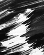 black grunge background, abstract texture of paint brush