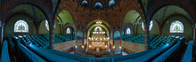 Renovated Jewish Synagogue From The Inside, Serbia