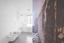 Bathroom Renovation / Restoration Before And After