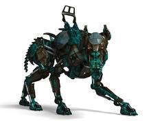 Green Guard Dog Robot Is A Sec...