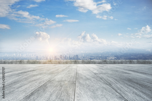Fototapeta Creative outdoor backdrop