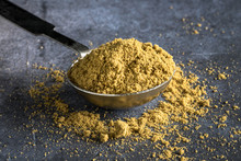 Ground Cumin Spilled From A Te...