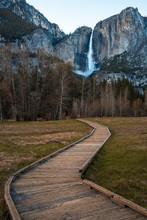 Boardwak Leading To Yosemite F...