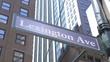 Lexington Avenue Sign NY
