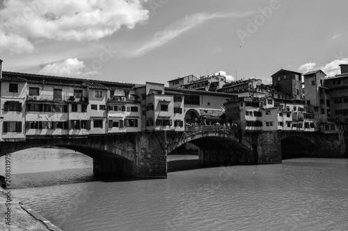 Obraz na płótnie old bridge, florence, italy