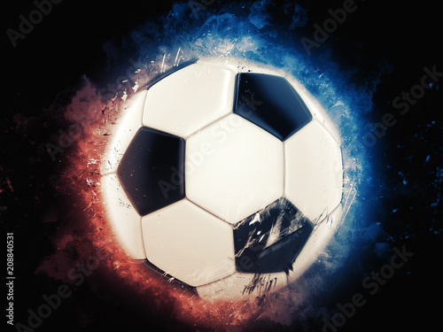 Cool Soccer Ball Illustration Buy This Stock Photo And Explore