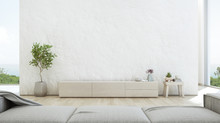 Sea View Living Room Of Luxury...