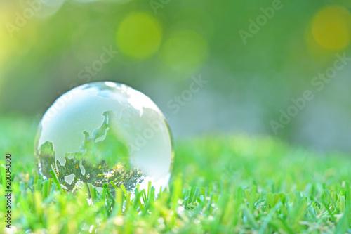 Fototapety, obrazy: ガラスの地球儀