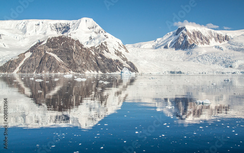 Staande foto Antarctica Antarctica Landscape 1