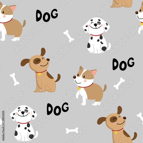 ładny pies wzór
