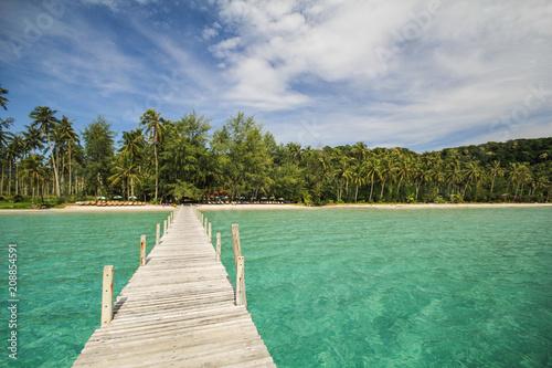 Foto op Canvas Strand Kood island, Koh Kood, Trat, Thailand