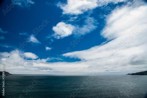 Fototapeta entre nubes obraz na płótnie