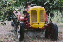 Old Tractor On A Greek Farm