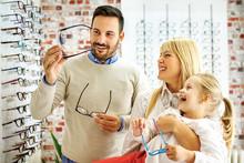 Family In Optics Store