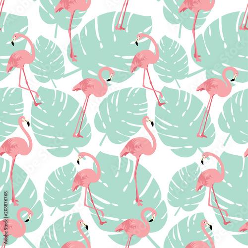 lato-deseniowy-tlo-z-rozowymi-flamingow-ptakami