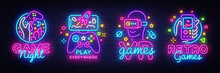 Video Games Logos Collection N...
