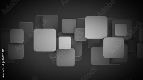 Fototapety czarne - bardzo ciemne czarne-kwadraty