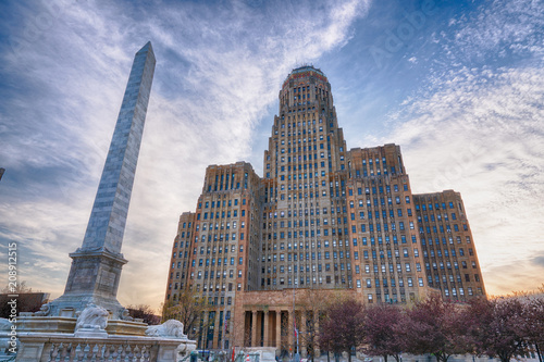 Buffalo City Building, New York