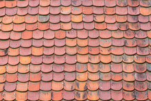 Terracotta Clay Roof Tiles Bac...