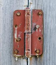 Door Old Rusty Loop