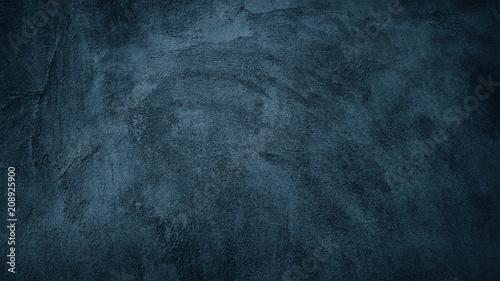 Fotografia  Abstract Grunge Navy Dark Background