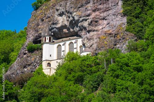 Foto  Die Felsenkirche in Idar-Oberstein