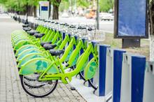 Bicycle Rental System. Ecologi...
