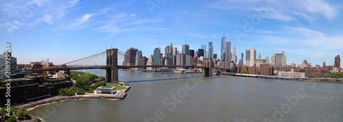 Poster New York City NYC Brooklyn Bridge