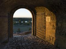 Landscape Seen Through From Belgrade Fortress, Belgrade, Serbia