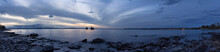 Panorama Lake Champlain Burlington Vermont