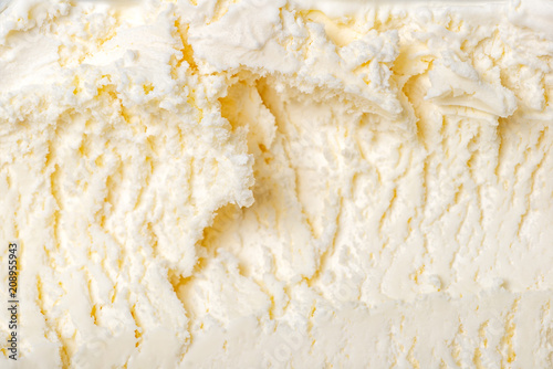 texture of white ice cream like background, close up