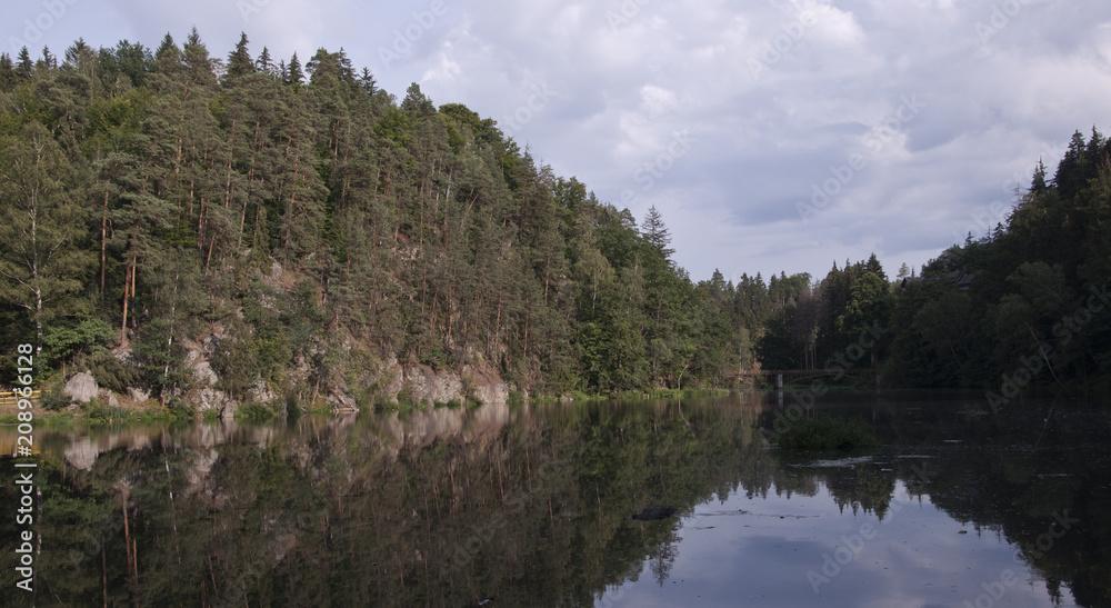 Fototapeta Polska turystycznie-Siedlęcin