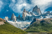 Fitz Roy Mountain, El Chalten,...