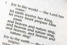 "Christmas Carol  - ""Joy To The World"""