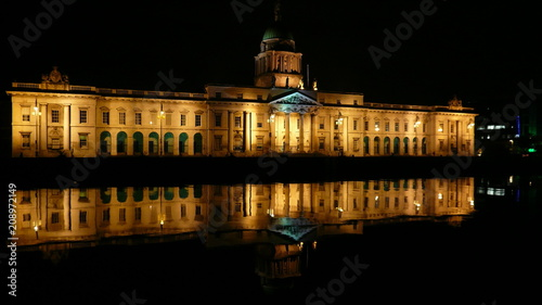 Obraz na płótnie parlament dublin