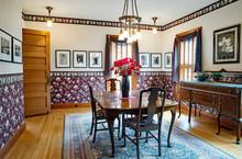 Victorian Dining Room Interior