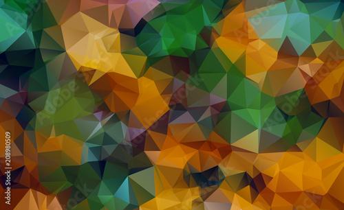 Fototapety, obrazy: Vector triangle background