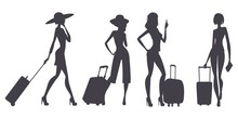 Traveling Women, Silhouettes