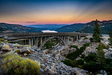 Donner Summit Bridge - Rainbow Bridge - Route 40