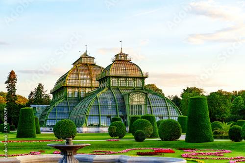 Deurstickers Wenen Palmenhaus und Wüstenhaus in Wien