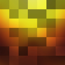 Large Squares Of Orange, Yellow, Brown Colors Form A Gradient Changing.