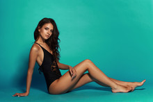 Young Sexy Slim Tanned Woman I...
