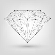 Polygonal Diamond, Brilliant O...