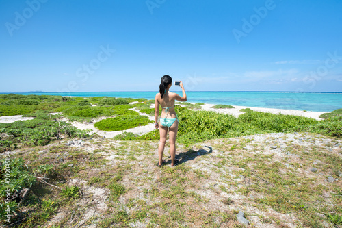 Foto op Canvas Asia land Urlaub auf Okinawa, Japan