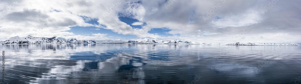 Fototapeta Arktyczna oaza ciszy